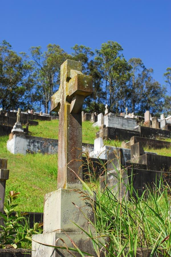 Cimitero di Toowong fotografie stock libere da diritti
