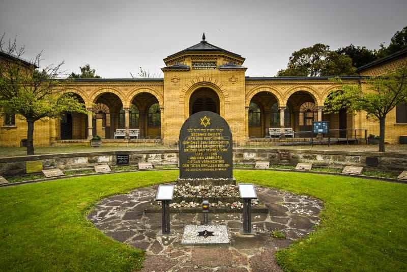 Cimitero di Weissensee fotografie stock libere da diritti