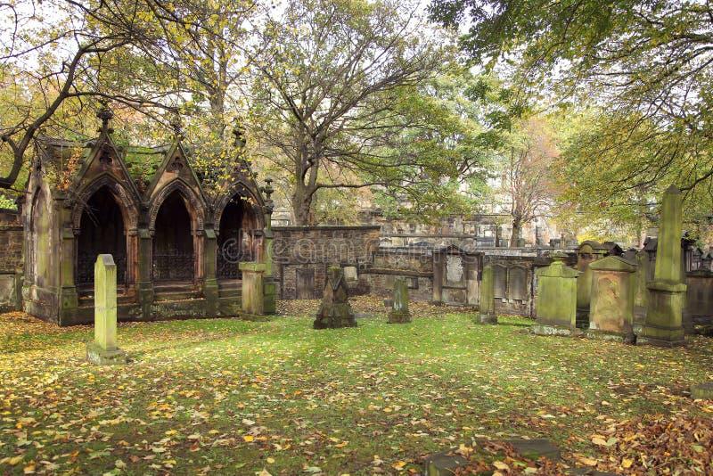 Cimitero gotico immagini stock