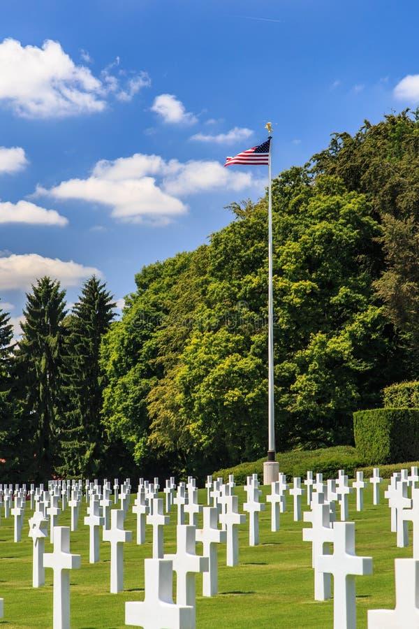 Cimitero militare americano immagine stock libera da diritti