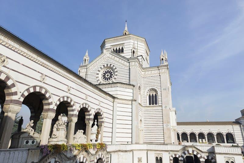 Cimitero Monumentale immagini stock libere da diritti