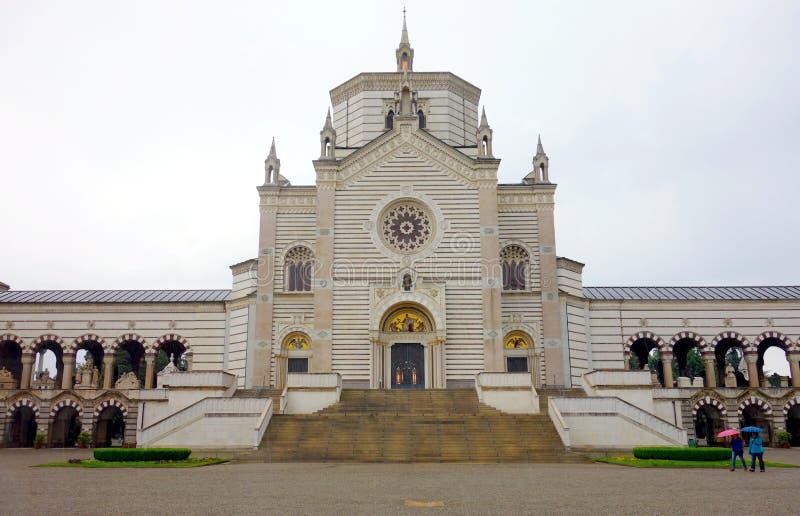 Cimitero Monumentale immagine stock