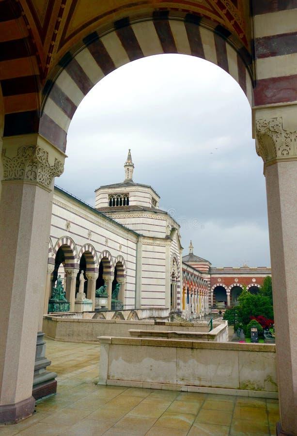 Cimitero Monumentale fotografia stock libera da diritti