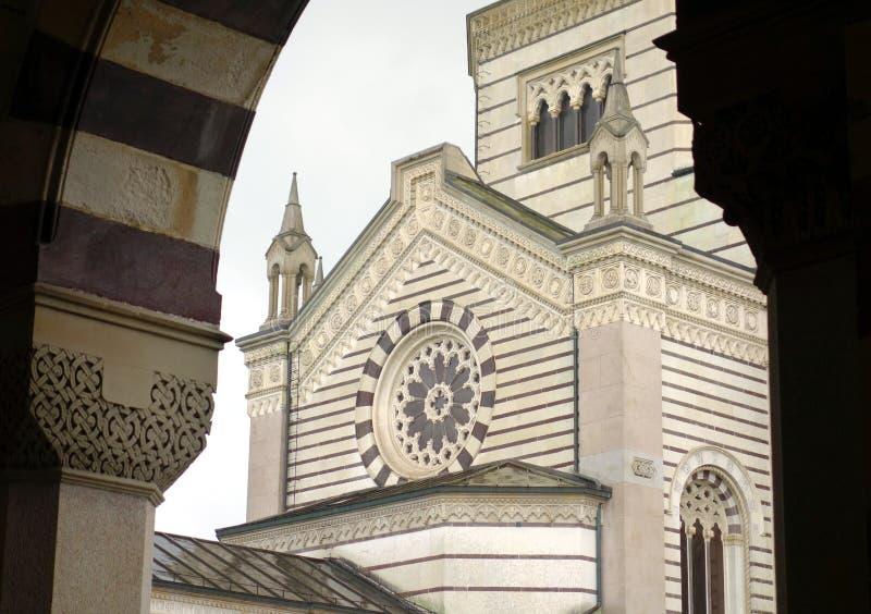Cimitero Monumentale fotografia stock