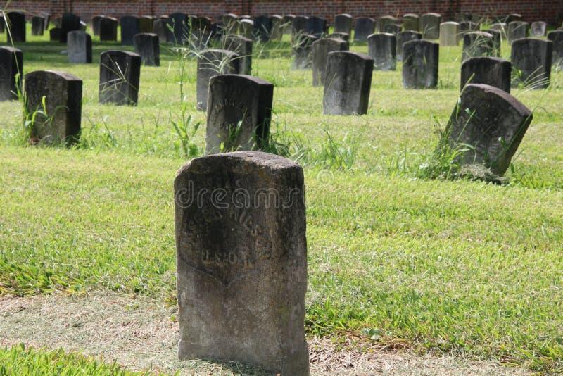 Cimitero nazionale di Chalmette fotografie stock libere da diritti