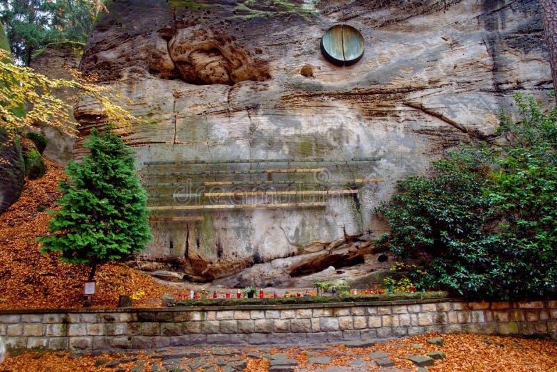 Cimitero rampicante simbolico fotografia stock libera da diritti