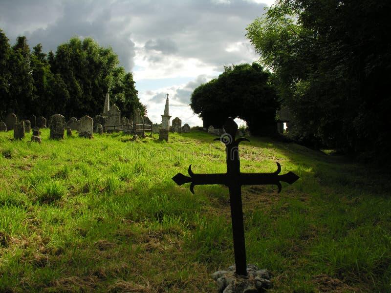 Cimitero Tipperary di Templetenny fotografia stock