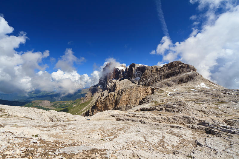 Download Cimon Della Pala - Pale Di San Stockfoto - Bild von hoch, wolke: 27735186