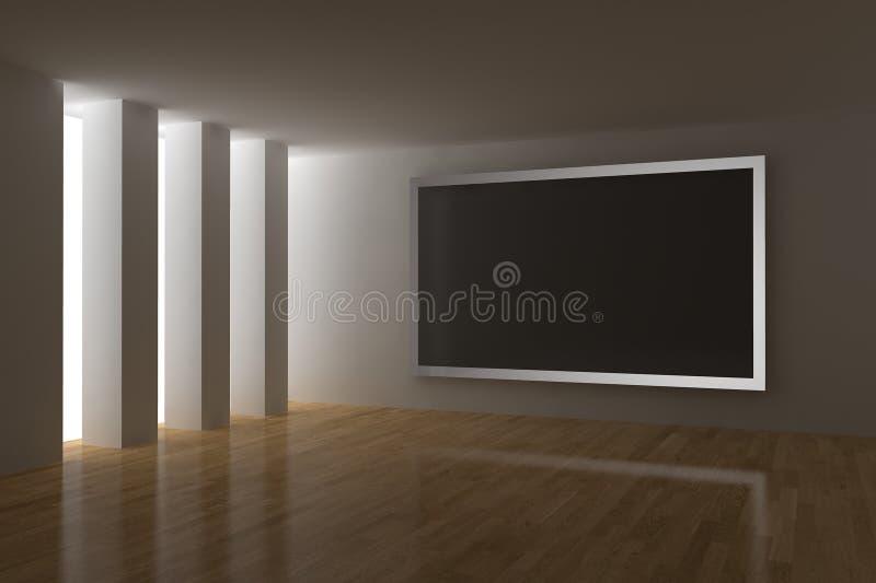 Cinéma à la maison illustration libre de droits