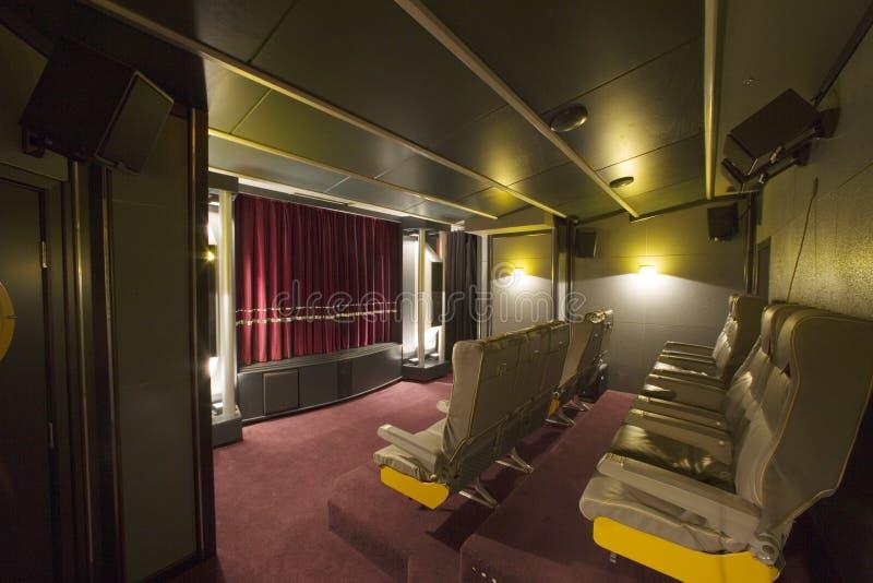 Cinéma à la maison 2 photo libre de droits