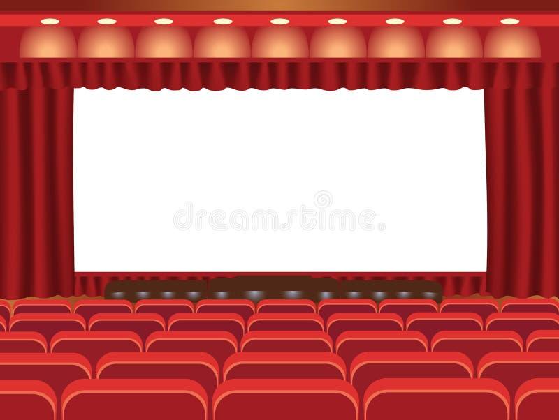 Cinéma illustration libre de droits