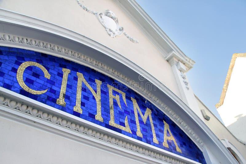 Cinéma photographie stock