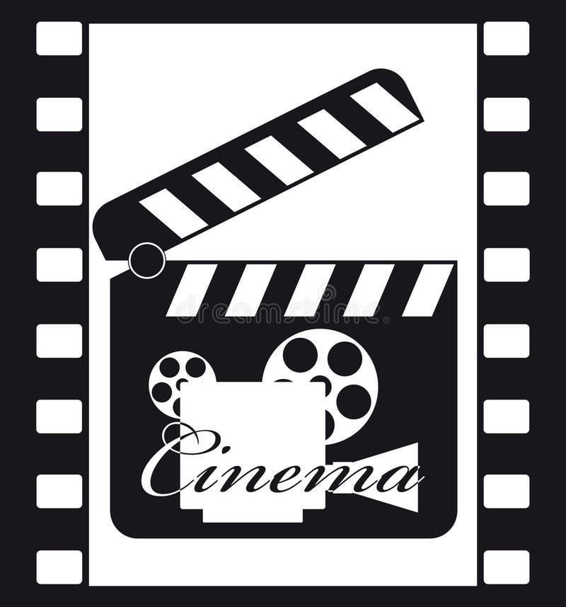Cinéma 3 illustration stock