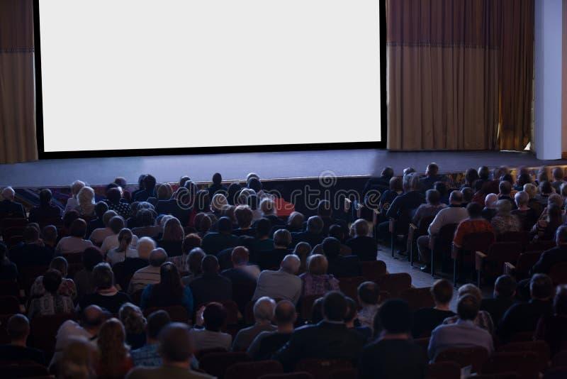 Cinéma de observation d'assistance image libre de droits