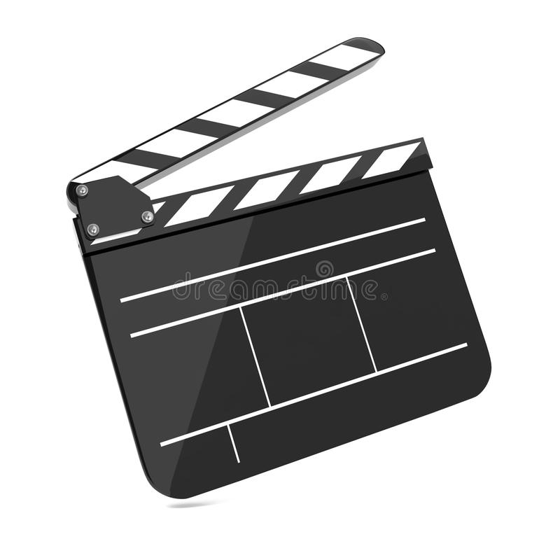 Cinéma de panneau de tape de film. illustration stock