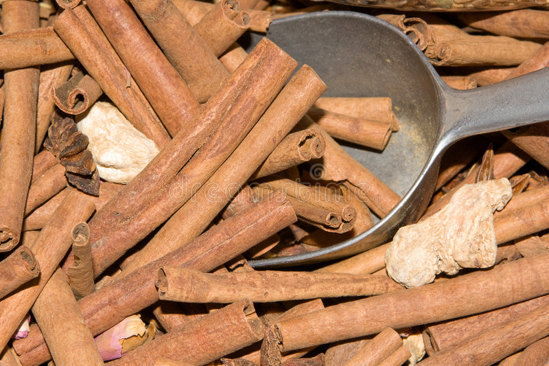Download Cinamon sticks stock photo. Image of pieces, flavoring - 6679878