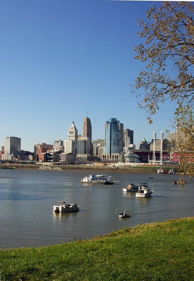 Cincinnati royalty free stock photography