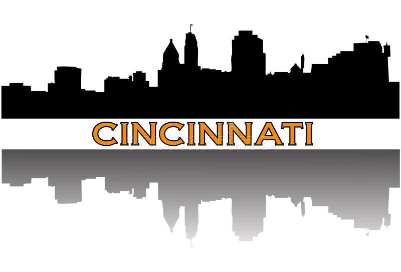 Cincinnati vector illustration