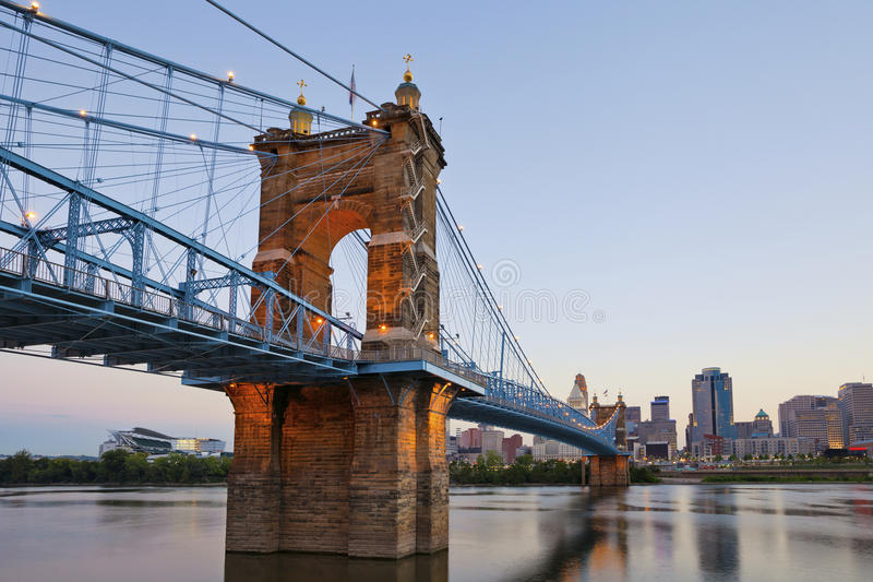 Download Cincinnati. stock image. Image of place, downtown, ohio - 26242457