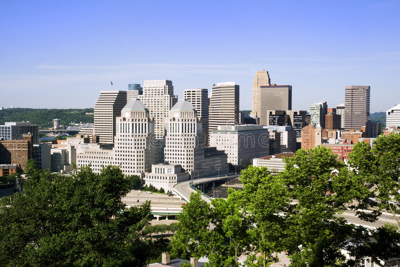 Cincinnati royalty free stock photos