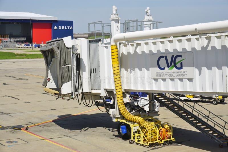 Cincinnati/aeroporto internazionale nordico del Kentucky (CVG) fotografia stock libera da diritti