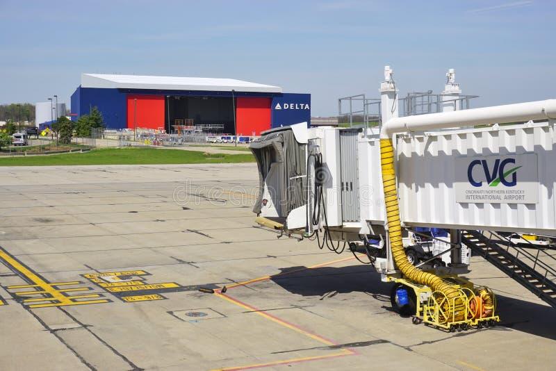 Cincinnati/aeroporto internazionale nordico del Kentucky (CVG) immagine stock