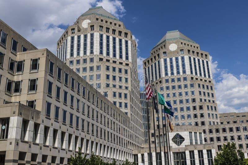 Cincinnati - cerca do maio de 2017: Matrizes incorporadas de Procter & Gamble P&G é um Multinacional americano Bens de consumo Em fotos de stock royalty free