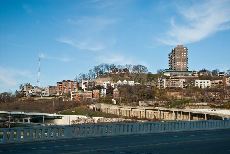 Cincinnati-Hügel lizenzfreie stockbilder