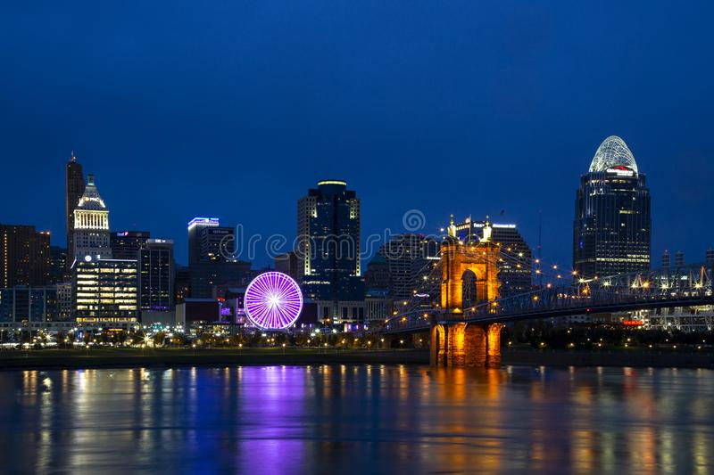 Cincinnati, Ohio stockfotos
