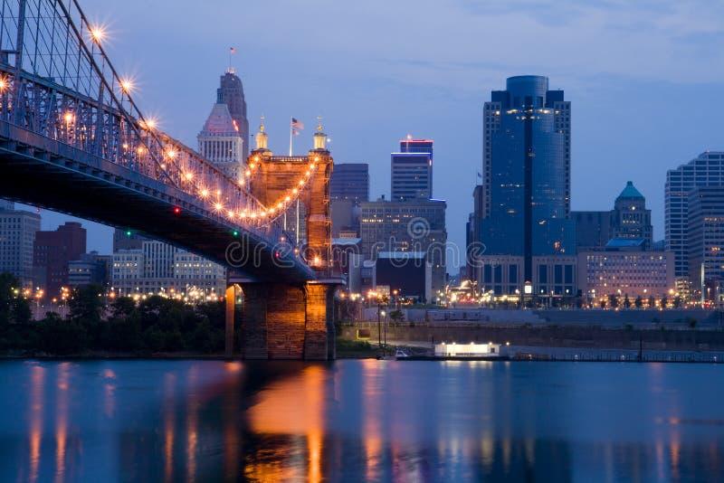 Cincinnati, Ohio lizenzfreie stockbilder