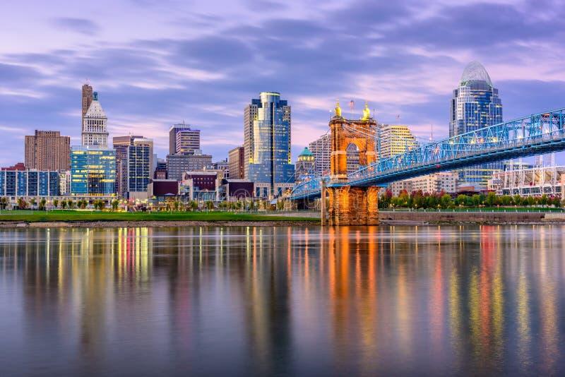 Cincinnati, Ohio, EUA imagens de stock