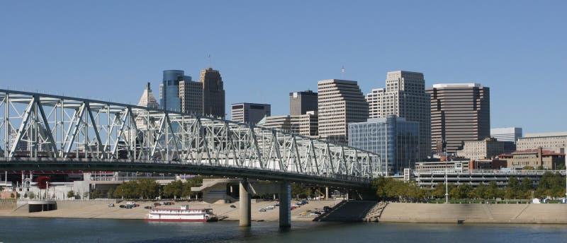 Cincinnati Skyline stock photos