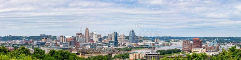 Cincinnati-Skyline lizenzfreie stockfotos