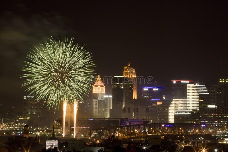 Cincinnati vierde stock foto