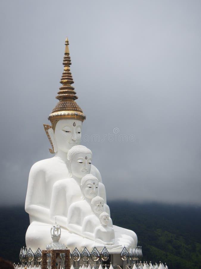 Cinco buddha foto de stock royalty free