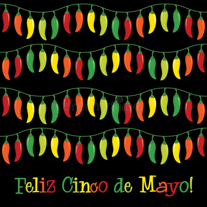 Cinco De Mayo! royalty-vrije illustratie
