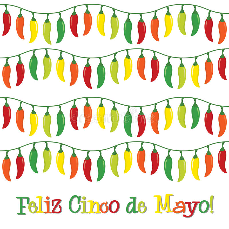 Cinco De Mayo! ilustracja wektor