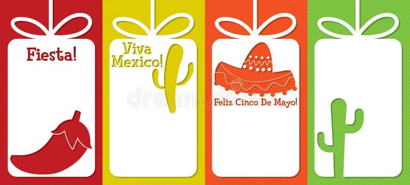 Cinco DE Mayo royalty-vrije illustratie
