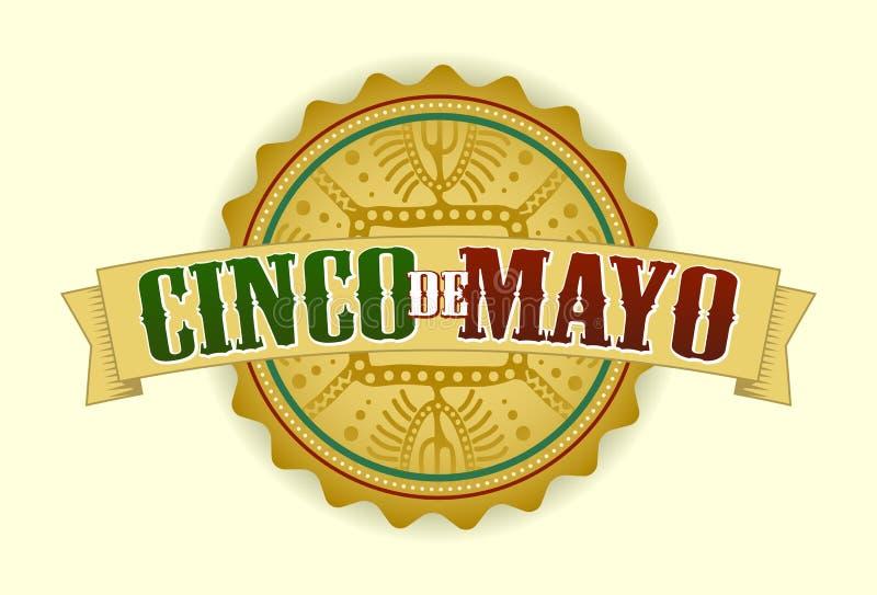 Cinco DE Mayo stock illustratie