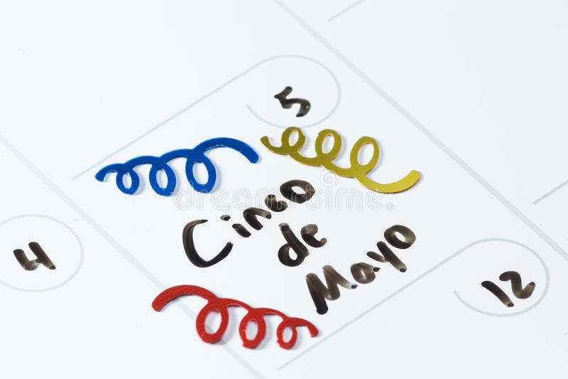Cinco De Mayo immagini stock libere da diritti