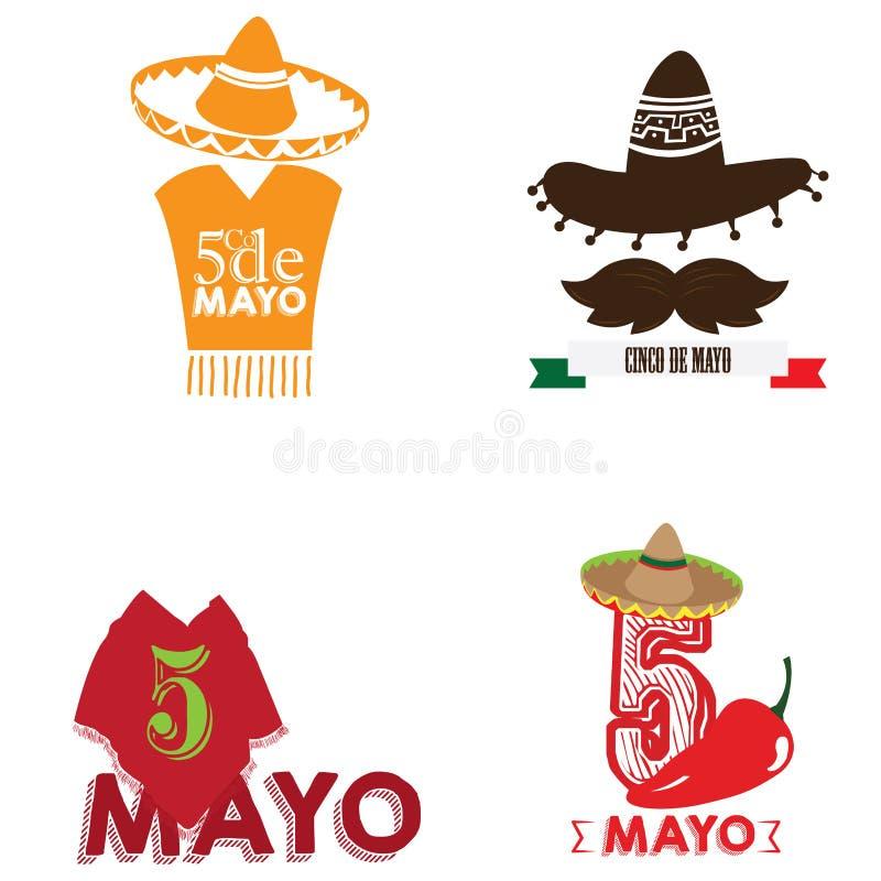 cinco de mayo stock illustrationer