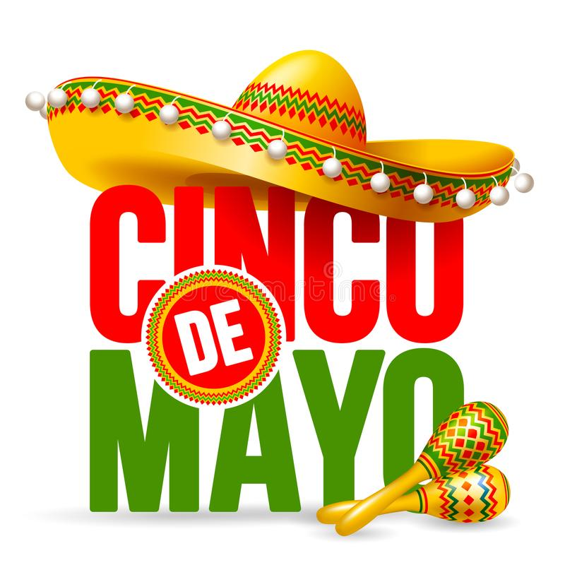 Cinco de Mayo stock illustration