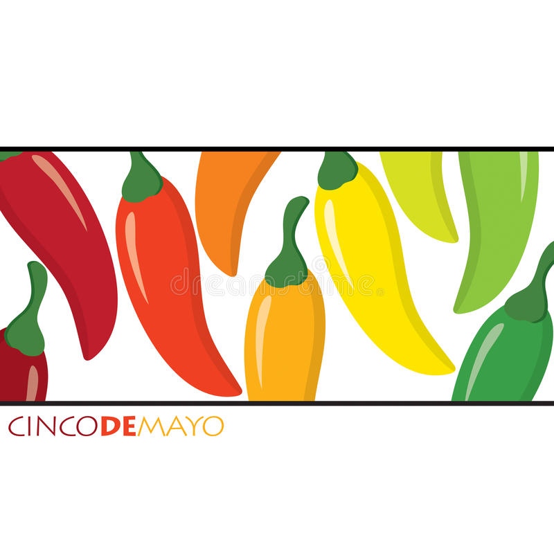 Cinco De Mayo! stock illustration