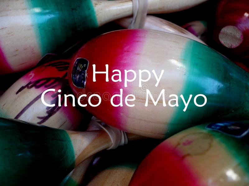 Cinco de Mayo feliz o 5 de maio fotografia de stock royalty free