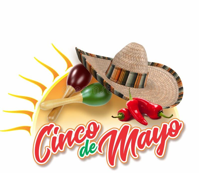 Cinco De Mayo 1 royalty free stock images