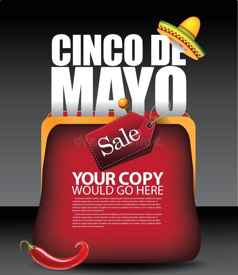 Cinco De Mayo kiesy tła EPS 10 wektor