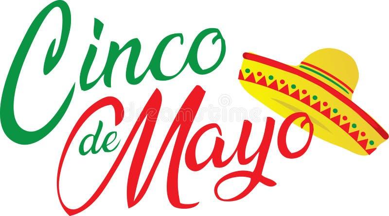 Cinco de Mayo logo z sombrero