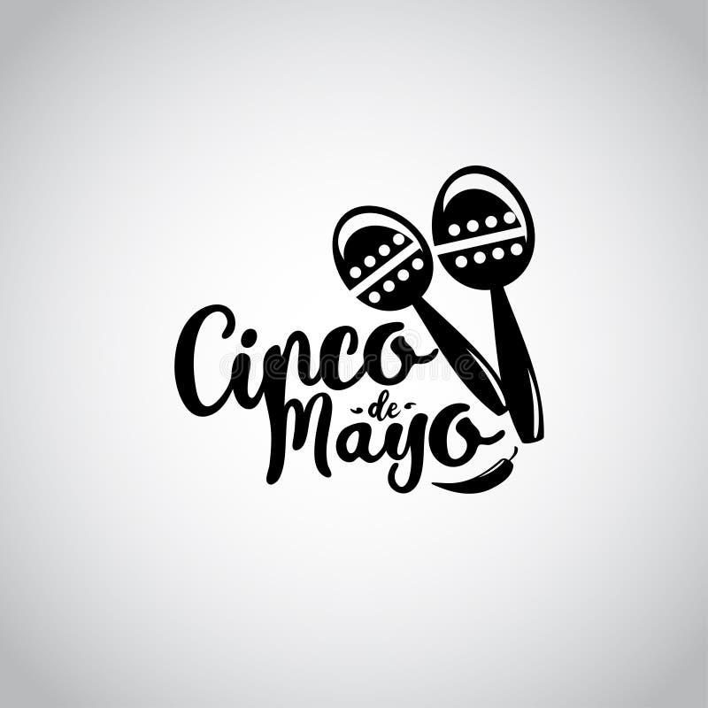 Cinco de Mayo, Meksykański fiesta sztandar i plakatowy projekt, wektor