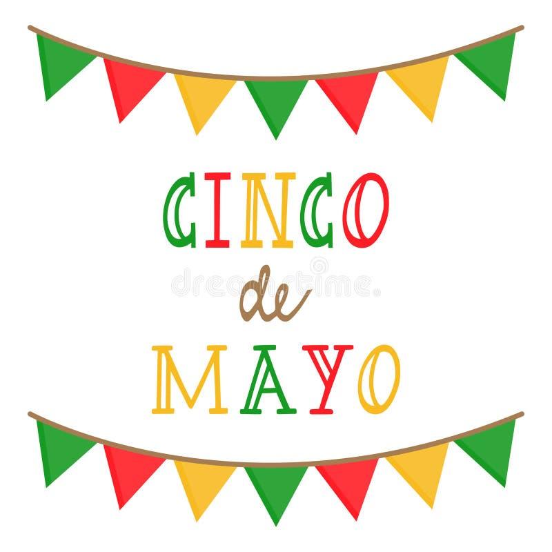 Cinco de Mayo, mexican holiday vector graphic vector illustration