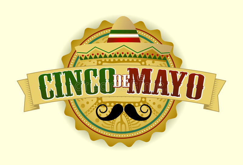Cinco de Mayo Mexico stock illustrationer
